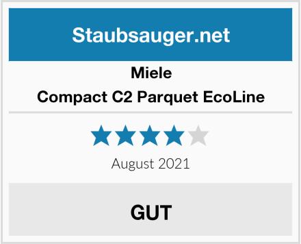 Miele Compact C2 Parquet EcoLine Test
