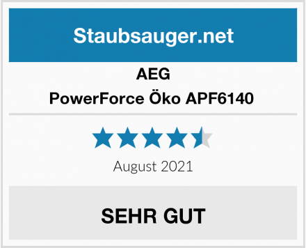 AEG PowerForce Öko APF6140  Test