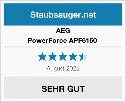 AEG PowerForce APF6160  Test