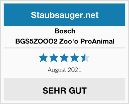 Bosch BGS5ZOOO2 Zoo'o ProAnimal Test