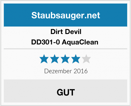 Dirt Devil DD301-0 AquaClean  Test