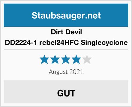 Dirt Devil DD2224-1 rebel24HFC Singlecyclone Test
