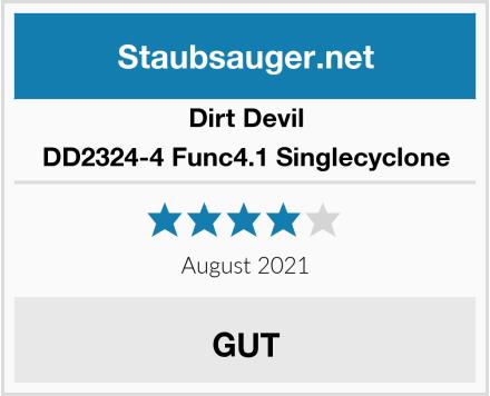 Dirt Devil DD2324-4 Func4.1 Singlecyclone  Test