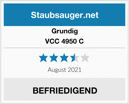 Grundig VCC 4950 C Test