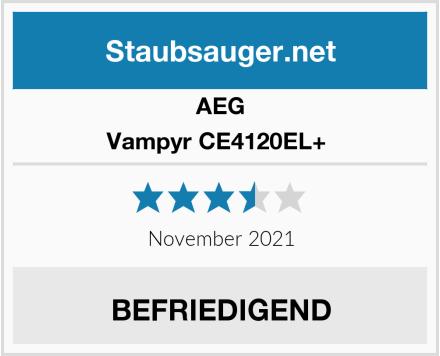 AEG Vampyr CE4120EL+  Test