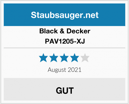 Black & Decker PAV1205-XJ Test
