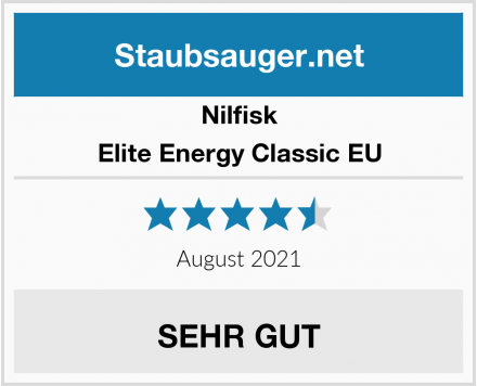 Nilfisk Elite Energy Classic EU Test