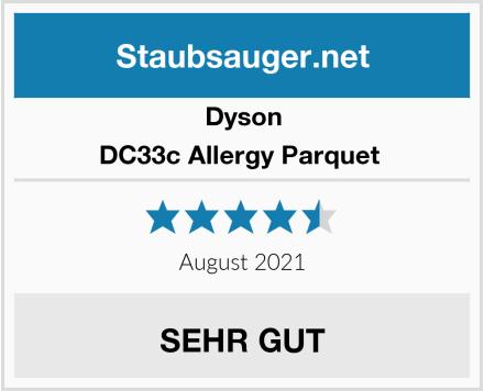 Dyson DC33c Allergy Parquet  Test