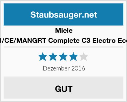Miele SGSH1/CE/MANGRT Complete C3 Electro Eco Line  Test