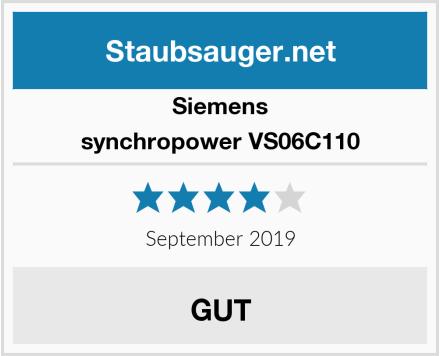 Siemens synchropower VS06C110 Test