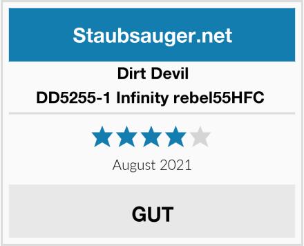Dirt Devil DD5255-1 Infinity rebel55HFC  Test