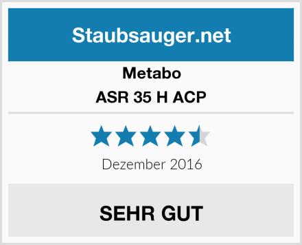 Metabo ASR 35 H ACP Test