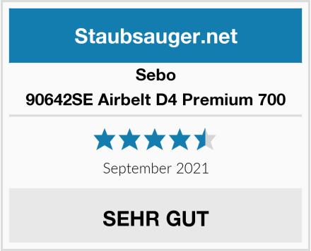Sebo 90642SE Airbelt D4 Premium 700 Test