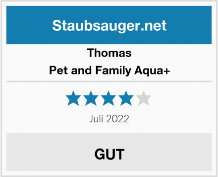 Thomas Pet and Family Aqua+ Test