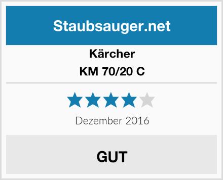 Kärcher KM 70/20 C Test