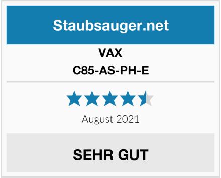 VAX C85-AS-PH-E Test