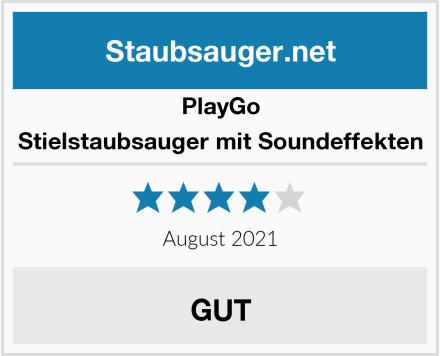 PlayGo Stielstaubsauger mit Soundeffekten Test