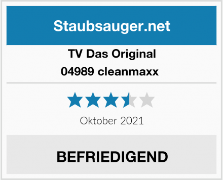 TV Das Original 04989 cleanmaxx  Test