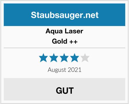 Aqua Laser Gold ++ Test