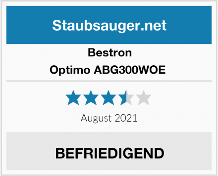 Bestron Optimo ABG300WOE  Test