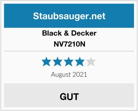 Black & Decker NV7210N Test