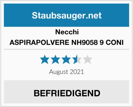 Necchi ASPIRAPOLVERE NH9058 9 CONI Test