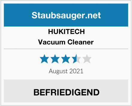 HUKITECH Vacuum Cleaner Test