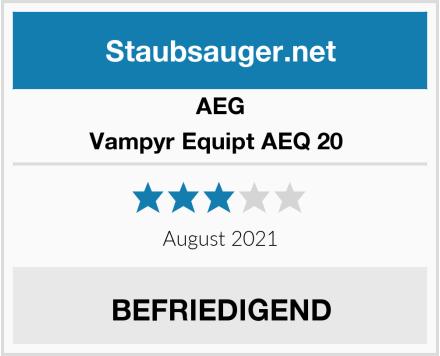 AEG Vampyr Equipt AEQ 20  Test