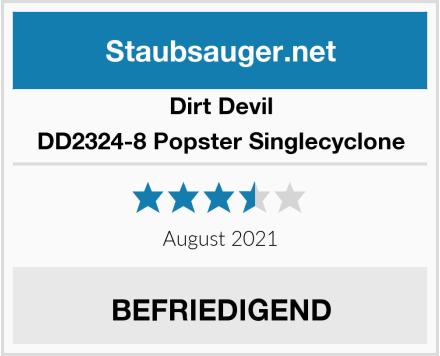 Dirt Devil DD2324-8 Popster Singlecyclone Test