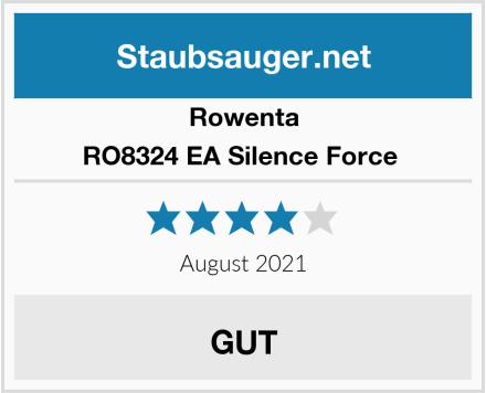 Rowenta RO8324 EA Silence Force  Test
