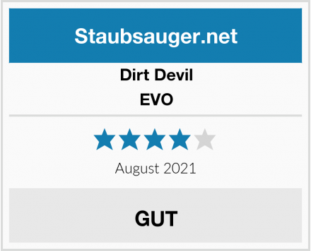 Dirt Devil EVO Test