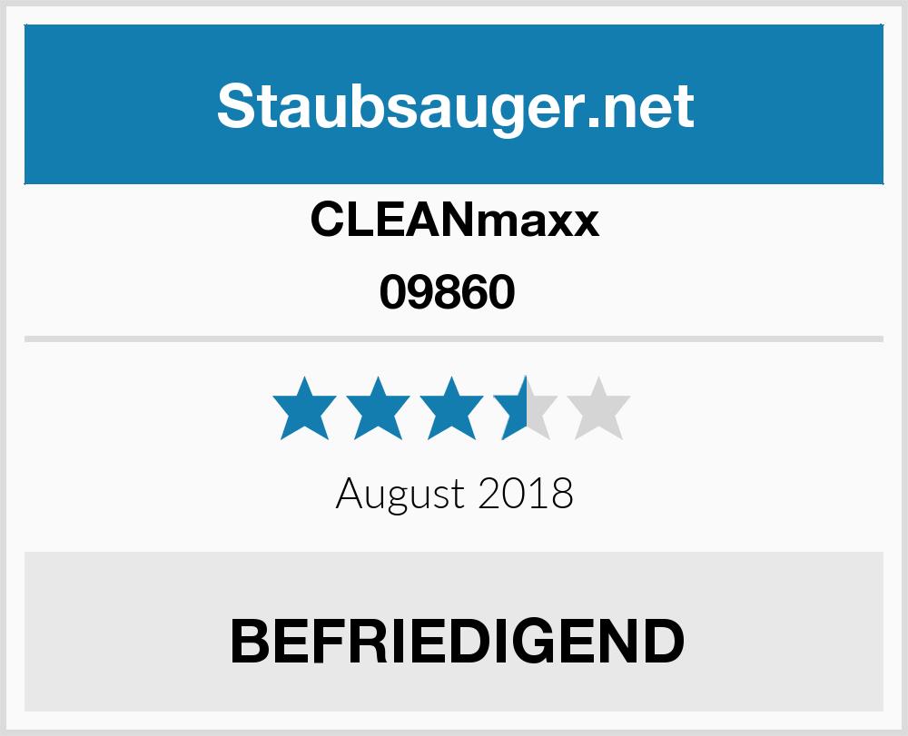 Clean Maxx 09860 Staubsauger Test 2017
