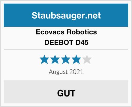 Ecovacs Robotics DEEBOT D45 Test