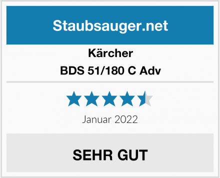 Kärcher BDS 51/180 C Adv Test