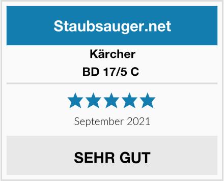 Kärcher BD 17/5 C  Test