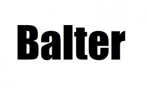 Balter Staubsauger