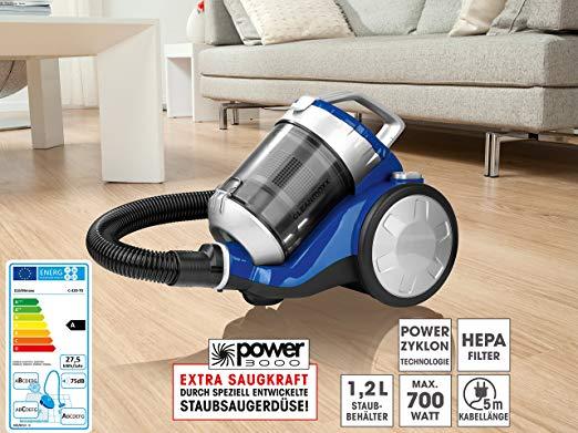 clean maxx zyklon staubsauger mit power 3000 kombib rste. Black Bedroom Furniture Sets. Home Design Ideas