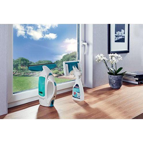 Leifheit Set Fenstersauger Dry & Clean mit Spray Cleaner