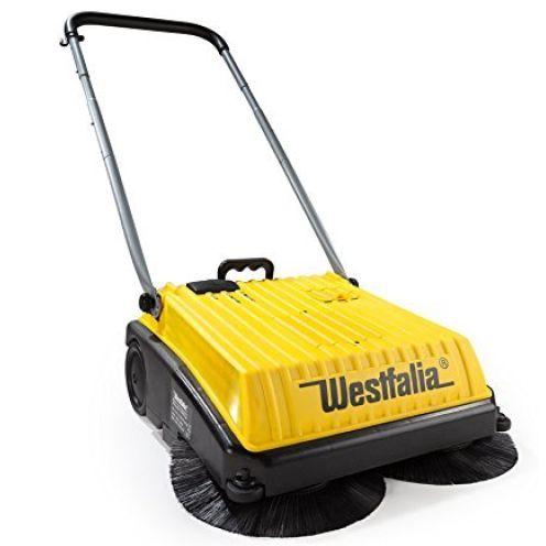 Westfalia 2 in 1 Elektro Kehrmaschine